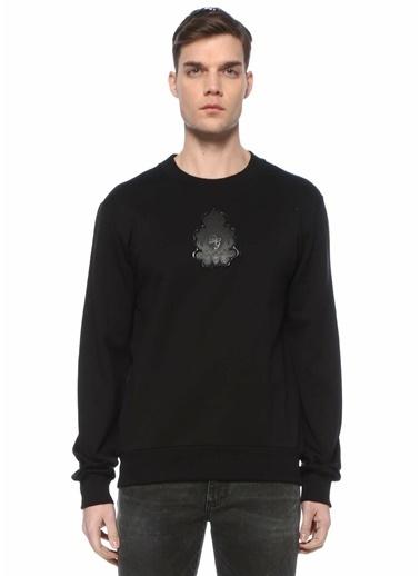 Dolce&Gabbana Dolce&Gabbana  Logo Patchli Sweatshirt 101620203 Siyah
